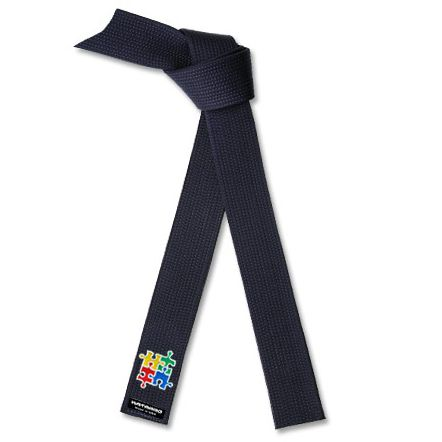 Embroidered Deluxe Autism Awareness Midnight Blue Belt