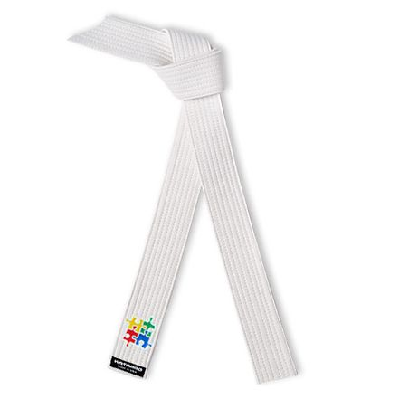 Embroidered Rank Belt Autism Awareness