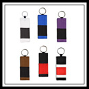 Embroidered Jujitsu Rank Belt Key Chain E4938S