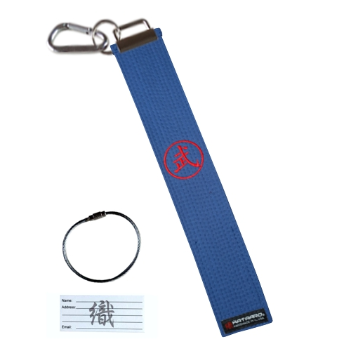 Luggage Tag - Blue Belt