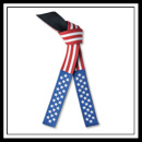 Embroidered American Flag Belt - Brushed Cotton E4991