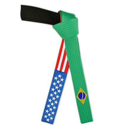 American Brazilian Flag Belt USA