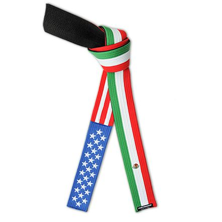 American Mexican Flag Belt