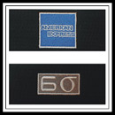 Embroidered American Express Six Sigma Logo
