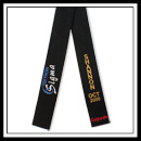Embroidered Textron Six Sigma Black Belt