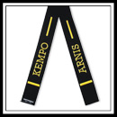 Embroidered Kempo Arnis Belt