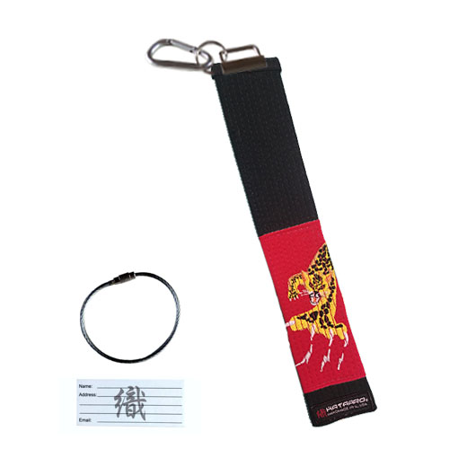 Martial Arts Belt Luggage Tag