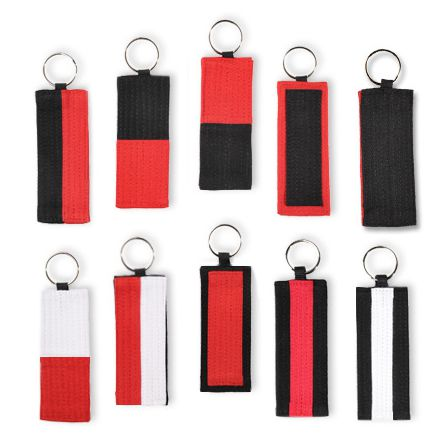 Martial Arts Master Belt Key Chains
