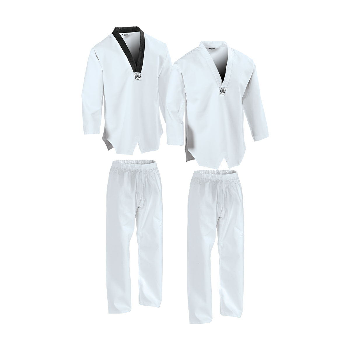 Taekwondo Uniform V-neck Middleweight