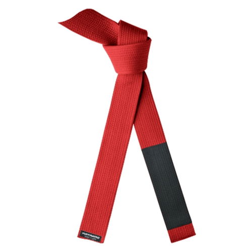JuJitsu Brushed Cotton Red Belt