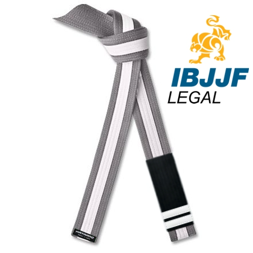 IBJJF Legal Jujitsu Youth Rank Belt White Stripe