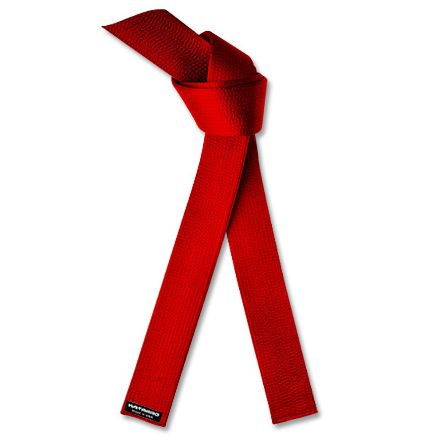 Red Belt - Satin