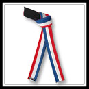 Embroidered American Flag Stripe Belt - Deluxe E4999