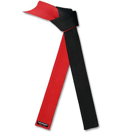 Deluxe Red and Black Specialty Belt