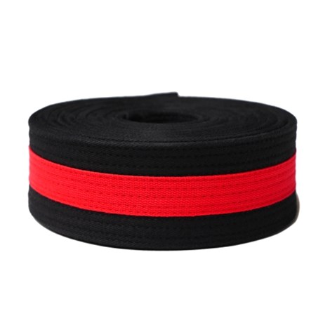 Martial Arts Black Belt Red Stripe Kataaro