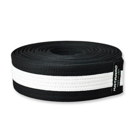 Martial Arts Black Belt With White Stripe Kataaro
